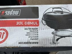 Weber 1211001 Jumbo Joe 18-Inch Portable Grill