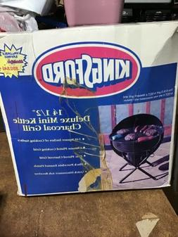 "Kingsford 14 1/2"" Kettle Charcoal Grill with Hinge - Black"