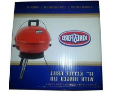 "Kingsford 14"" Kettle Charcoal Grill with Hinge - Red"