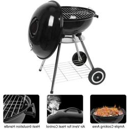 18 Inch Apple Portable Charcoal Grill Barbecue BBQ Stove Ena