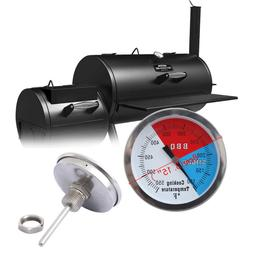 "3"" BBQ Charcoal Grill Pit Wood Smoker Temp Gauge Thermometer"