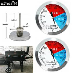 3 Inch Charcoal Grill Smoker Temperature Gauge Pit BBQ Therm