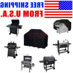 32-Inch Gas Grill Cover Outdoor BBQ Charcoal Smoker Cover Al
