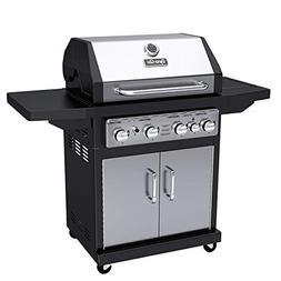Dyna-Glo Premium 4-Burner Propane Gas Grill with Side Burner