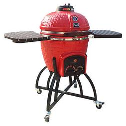 Icon Grills 400 Series 604 Square Inch Charcoal Kamado Grill