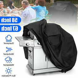 """58"""" 67"""" Waterproof Barbecue BBQ Gas Grill Cover for Weber Ch"""