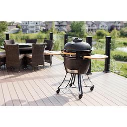 "Louisiana Grills 61220 Kamado BBQ Ceramic Grill Cooker, 22"""