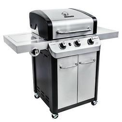 Char-broil - Signature Gas Grill - Silver/black