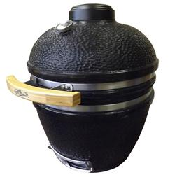 Duluth Forge Ceramic Charcoal Kamado Grill and Smoker - Medi