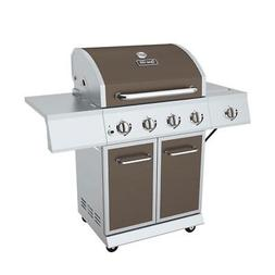 Dyna Glo 4 Burner LP Stainless Steel Outdoor & Backyard BBQ
