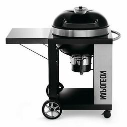 Napoleon Rodeo Pro Charcoal Kettle Grill on Cart
