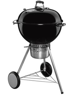 WEBER - MASTER TOUCH Kettle BLACK Charcoal GRILL 22-Inch BBQ