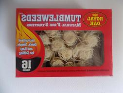 Royal Oak All Natural Tumbleweeds Fire Starters 16 pk Charco