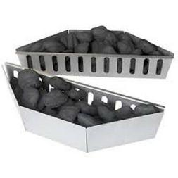 Napoleon Aluminized Steel Charcoal Baskets For Kettle Grills