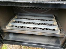 Angle Iron Charcoal Firewood Grate BBQ Smoker Grill FireBox