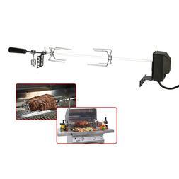 Automatic BBQ <font><b>Grill</b></font> Rotisserie Electric