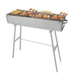 Barbecue Charcoal Grill BBQ Stove Shish Kebab Stainless Stee
