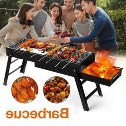 Barbecue Charcoal Grill Stove Shish Kebab BBQ Patio Camping