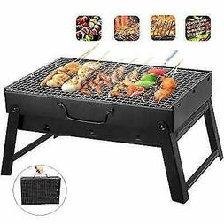 Barbecue Charcoal Smoker Grill Portable BBQ for Outdoor Cook