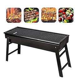Evoio Barbecue Grill Stove Folding Charcoal BBQ Grill Cookin
