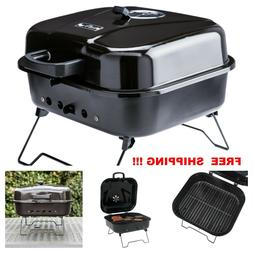 Barbeque BBQ Outdoor Portable Charcoal Grill Porcelain Coate