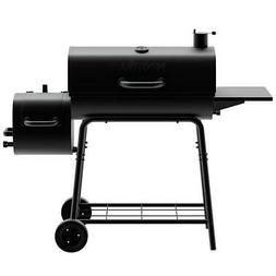Nexgrill Barrel Charcoal Grill/Smoker 29 in. 2 Racks Adjusta