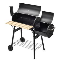 Anti-Rust BBQ Charcoal Grill Backyard Barbecue Cooking Outdo