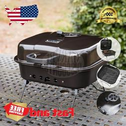 BBQ CHARCOAL GRILL Black Porcelain Coated Steel Portable Out