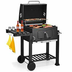 Giantex BBQ Charcoal Grill Portable Barbecue Grill for Lawn