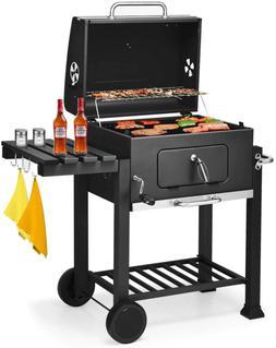 BBQ Charcoal Grill Portable for Lawn Picnic Backyard Balcony