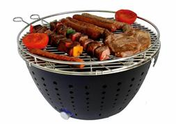 BBQ Charcoal Grill Smokeless Appliances Suitable Kitchen For