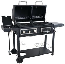 Revoace Dual Fuel Combination Charcoal/Gas Grill