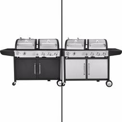 Royal Gourmet BBQ Gas Charcoal Grill Dual Fuel Combo