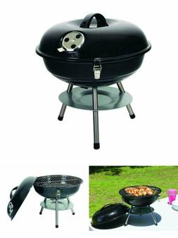 "BBQ Grill 13"" Cooking surface Heavy-Duty steel legs Texsport"