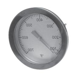 Big Green Egg BBQ Grill Temperature Gauge Heat Indicator The