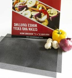 BBQ Mat Replaces Vegetable Grill Basket | PFOA Free Grill Me