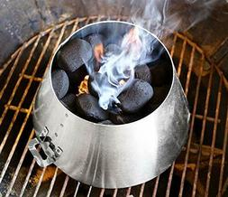 BBQ Vortex Weber 22 - BBQ Steel Weber Whirlpool Grill Kettle