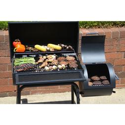Best Price Gourmet BBQ Charcoal Grill With Offset Smoker