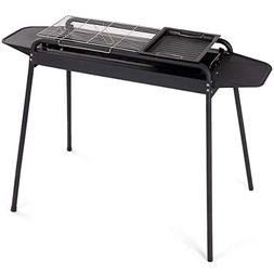 """FDInspiration Black 45"""" Adjustable Height Barbecue Charcoal"""