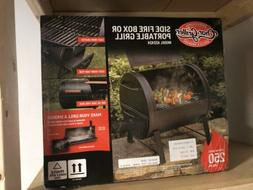 BNIB - Char-Griller 2-2424 Table Top Charcoal Grill and Side
