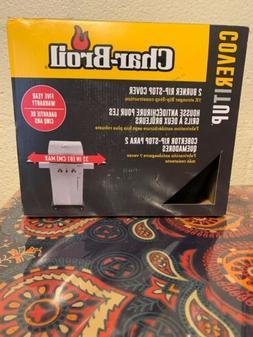 Char-Broil 2-3 Burner Rip-Stop Cover - 52 Inch Maximum - Sid