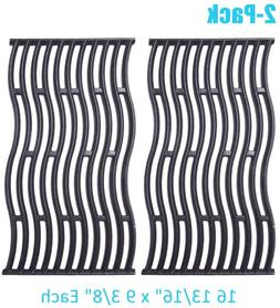 """Cast Iron Cooking Grates Grid Replacement 2-Pack 16 13/16"""" P"""