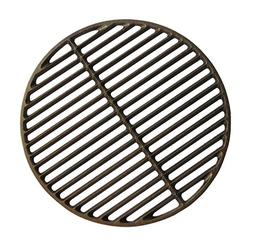 "PanHy Cast Iron Dual Side Grid Cooking Grate 15"" Round Fit f"