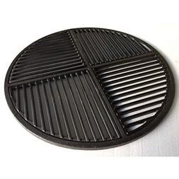 Cast Iron Grate, Pre Seasoned, Non Stick Cooking Surface, Mo
