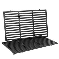 Uniflasy Cast Iron Grill Cooking Grid Grates Replacement Par