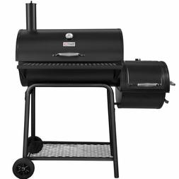 Royal Gourmet CC1830S Charcoal Grill with Offset Smoker, Bla