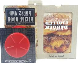 Charcoal Companion CC7603 Stuff-A-Burger Press Hamburger Gri