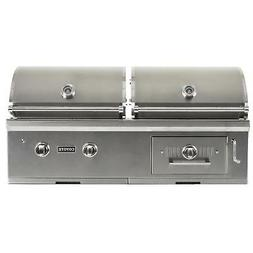 Coyote Centaur 50-inch Built-in Propane Gas/Charcoal Dual Fu
