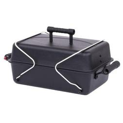 Gas Grill Deluxe Portable Liquid Propane, Lid and Firebox