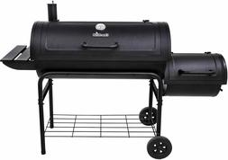 char broil offset charcoal smoker and grill